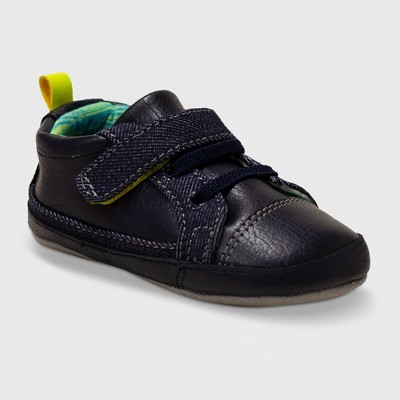 Ro+Me by Robeez Baby Boys' Casual Parker Sneakers - Navy 0-6M