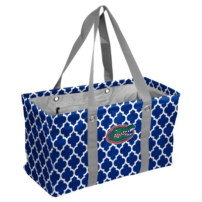 NCAA Florida Gators Logo Brands Quatrefoil Picnic Caddy