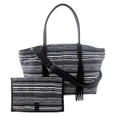 DV Tote Diaper Bag - Black
