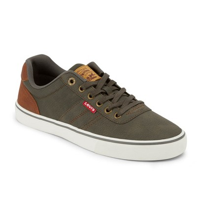 Levi's Mens Miles Tumbled Wx Rubber Sole Casual Fashion Sneaker Shoe
