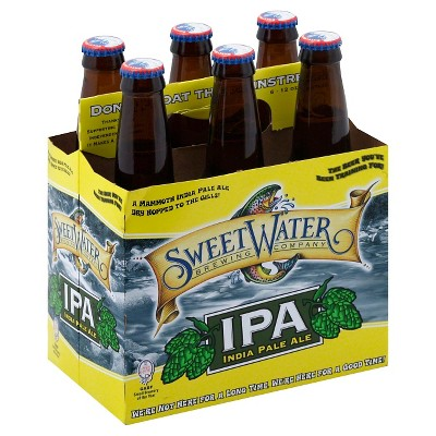 SweetWater IPA Beer - 6pk/12 fl oz Cans