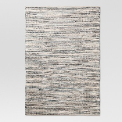 5'x7' Woven Area Rug Indigo - Threshold™