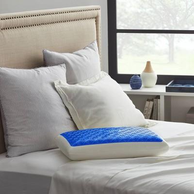 Standard Gel Memory Foam Bed Pillow - Sealy