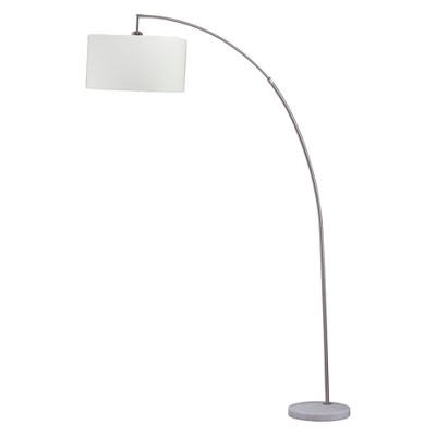 "86"" Bella Arc Floor Lamp with Marble Base - Ore International"