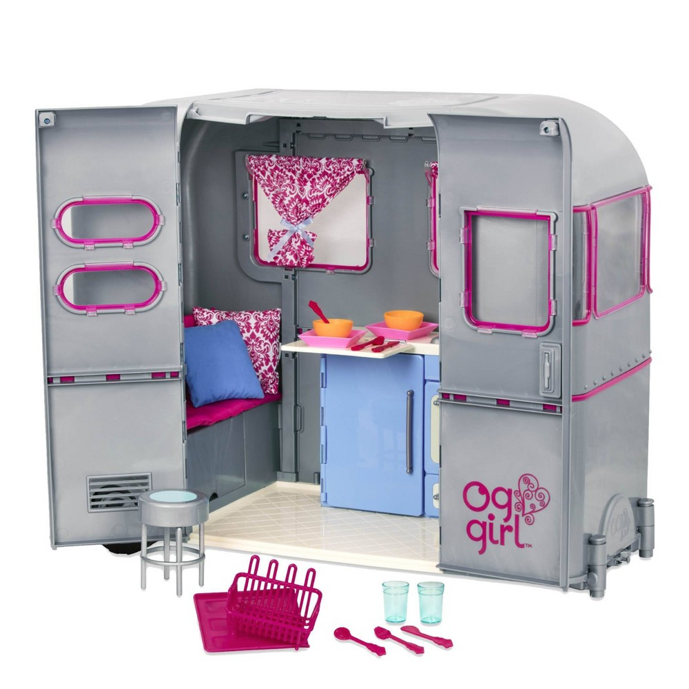 Our Generation Camping Accessory For 18 34 Dolls Rv Seeing You Camper