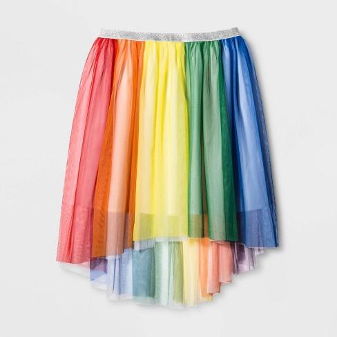 07374744c19e Pride Adult Gender Inclusive Skirt - Rainbow : Target