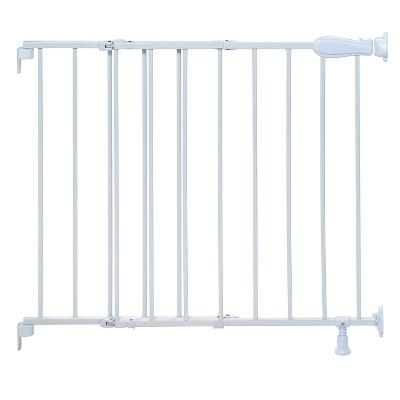 Summer Infant® Walk Thru Stairway Simple-to-Secure Baby Gate (White Metal)