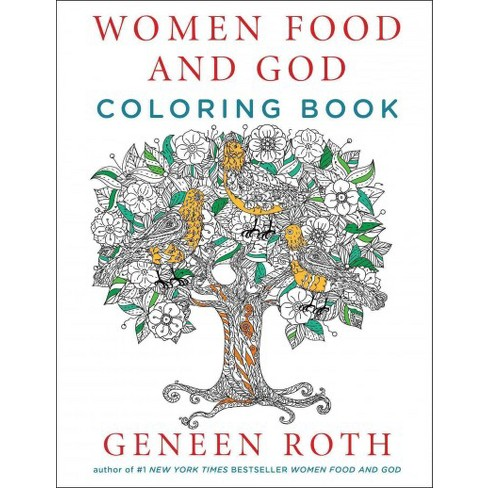 Women Food And God Coloring Book Paperback Geneen Roth