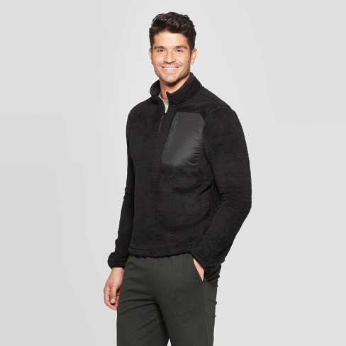 Men's Fleece 1/4 Zip Shell Jacket - C9 Champion® - image 1 of 2