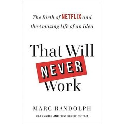 That Will Never Work - by  Marc Randolph (Hardcover)