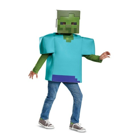 Minecraft Boys' Zombie Halloween Costume - Disguise - image 1 of 1