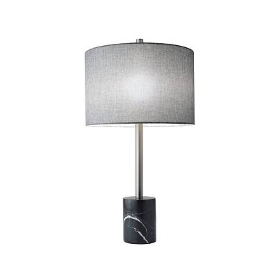 "28"" Blythe Table Lamp Steel/Black  - Adesso"