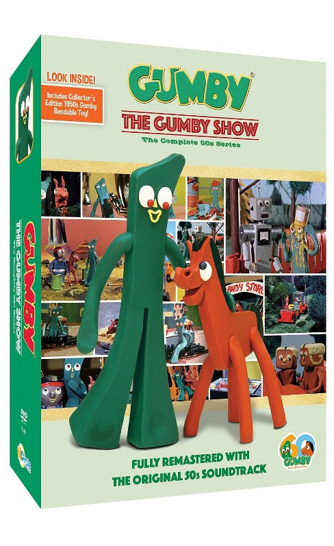 The Gumby Show: The Complete Series [Includes Toy] [2 Discs] - image 1 of 1