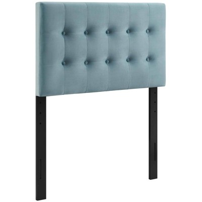 Emily Twin Biscuit Tufted Performance Velvet Headboard - Modway