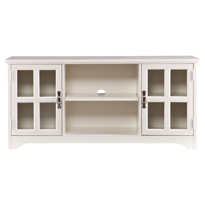 """Remey TV Stand for TVs up to 50"""" White - Aiden Lane"""