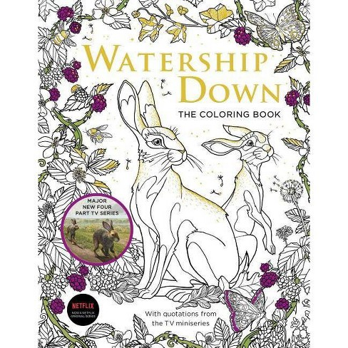 Watership Down the Coloring Book - (Paperback) - image 1 of 1