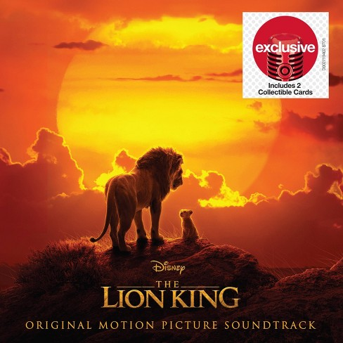 Various Artist - The Lion King (Original Motion Picture Soundtrack) ( Target Exclusive , CD) - image 1 of 1