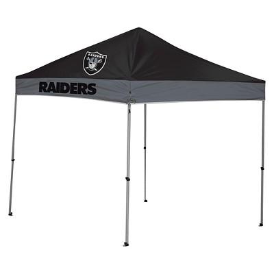Rawlings NFL Oakland Raiders 9'x9' Straight Leg Canopy Tent