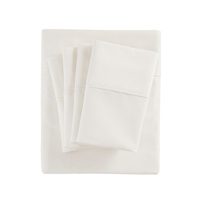 Cotton Blend 6pc Sheet Set 800 Thread Count (Queen)Ivory