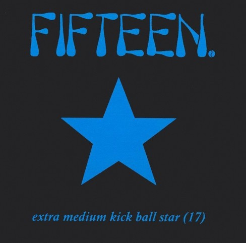 Fifteen - Extra medium kickball star 17 (CD) - image 1 of 2