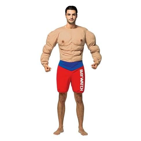 cae0b3c3a4ef Men s Baywatch Muscle Lifeguard Costume   Target