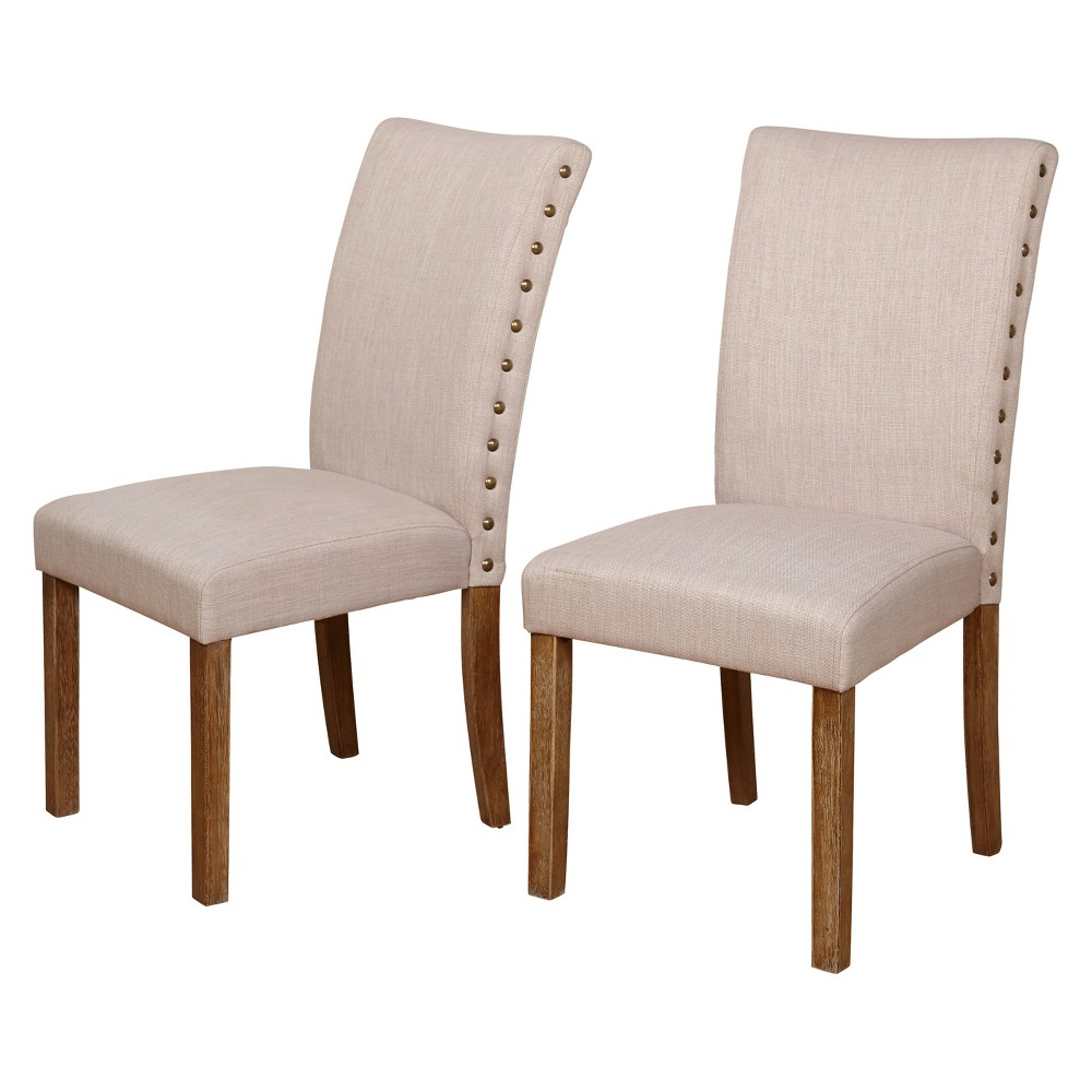 Set of 2 Atwood Dining Chair - Driftwood (Brown) - Buylateral