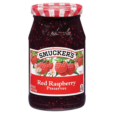 Smucker's® Red Raspberry Preserves - 18oz - image 1 of 1
