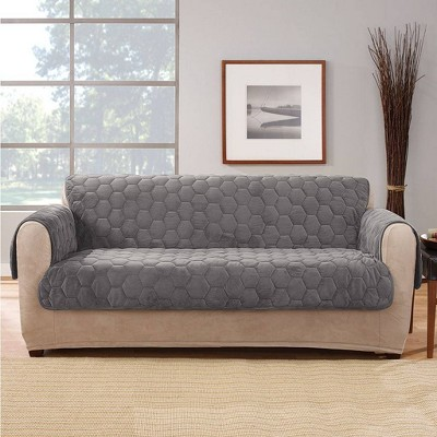 Silky Touch Loveseat Furniture Protector - Sure Fit