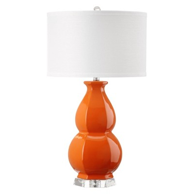Juniper Table Lamp Orange (Includes Energy Efficient Light Bulb)- Safavieh®