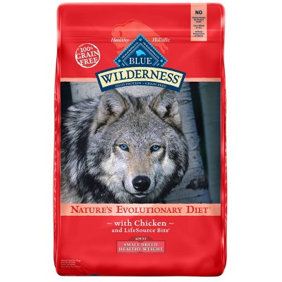 Dog Food: Blue Buffalo Wilderness Adult Small Breed Healthy Weight