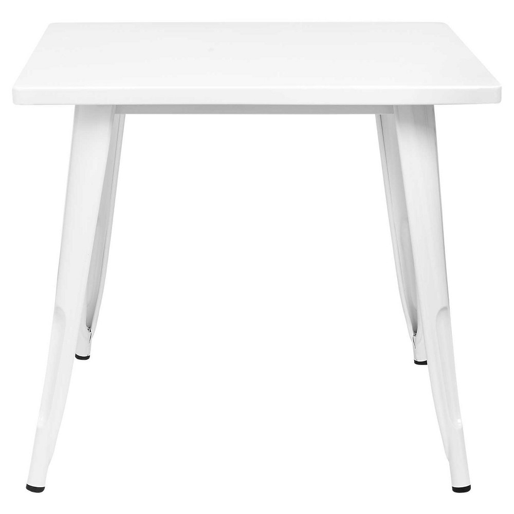 Industrial Kids Activity Table Campanula White - Pillowfort