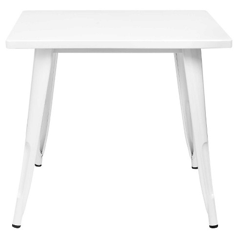 Industrial Kids Activity Table Campanula White - Pillowfort™ - image 1 of 5
