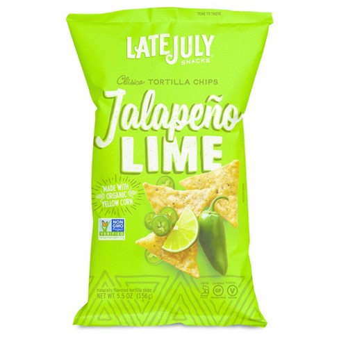 Late July Jalapeno Lime Tortilla Chips - 5.5oz - image 1 of 1