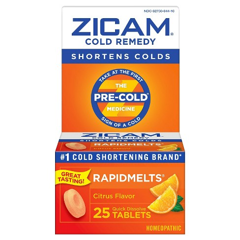 Zicam Quick Dissolve Tablets - Citrus - 25ct - image 1 of 3