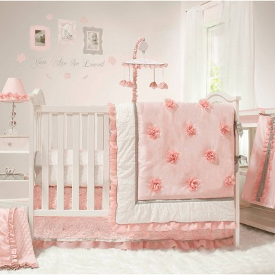 The Peanutshell Arianna 4pc Crib Bedding Set