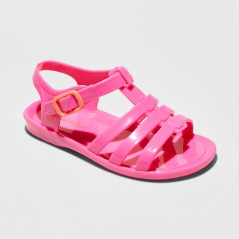 15d545467c9a Toddler Girls  Annabella Fisherman Slide Sandals - Cat   Jack™   Target