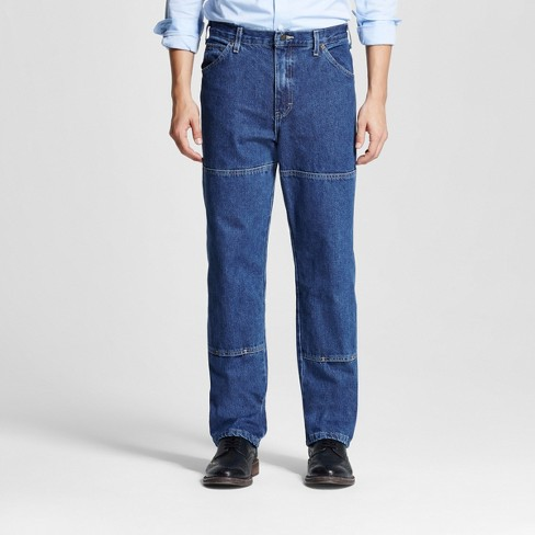 Dickies® Men's Relaxed Straight Fit Double Knee Denim Carpenter Jeans - image 1 of 6