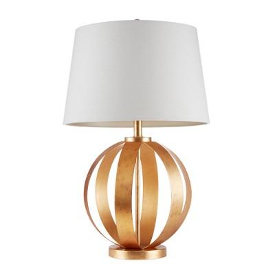 "27"" Warren Table Lamp Gold"