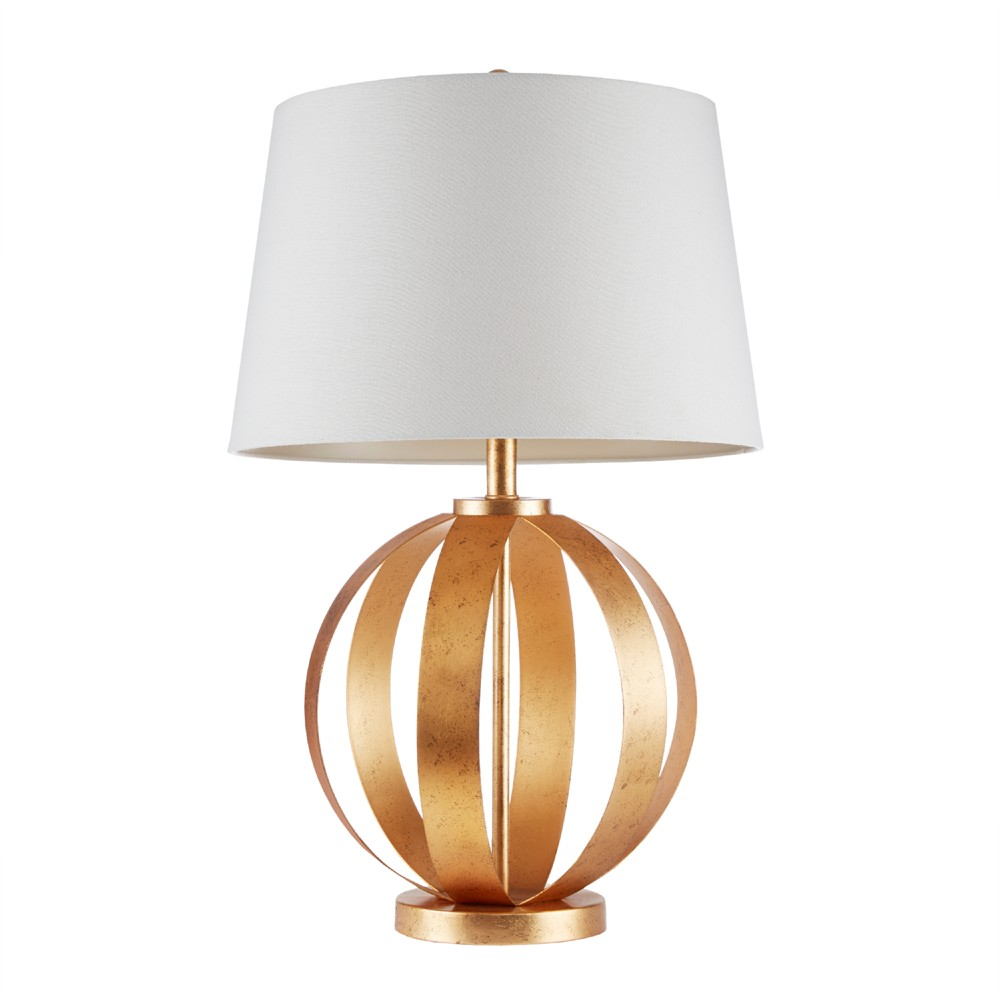 """Image of """"17"""""""" x 27"""""""" Warren Table Lamp (Includes Energy Efficient Light Bulb) Gold"""""""