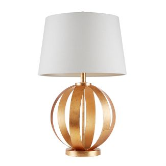 "27"" Warren Table Lamp Gold"