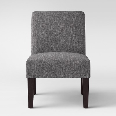 Quincy Basic Slipper Chair Charcoal - Threshold™