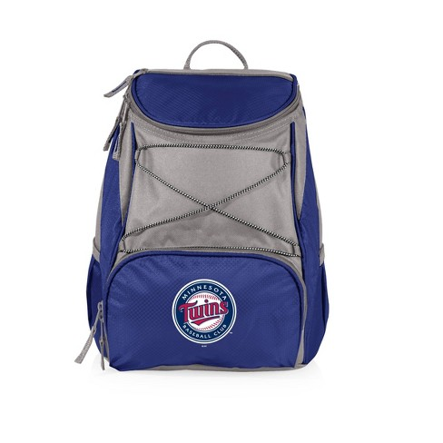 MLB Minnesota Twins PTX Backpack Cooler - Blue - image 1 of 4