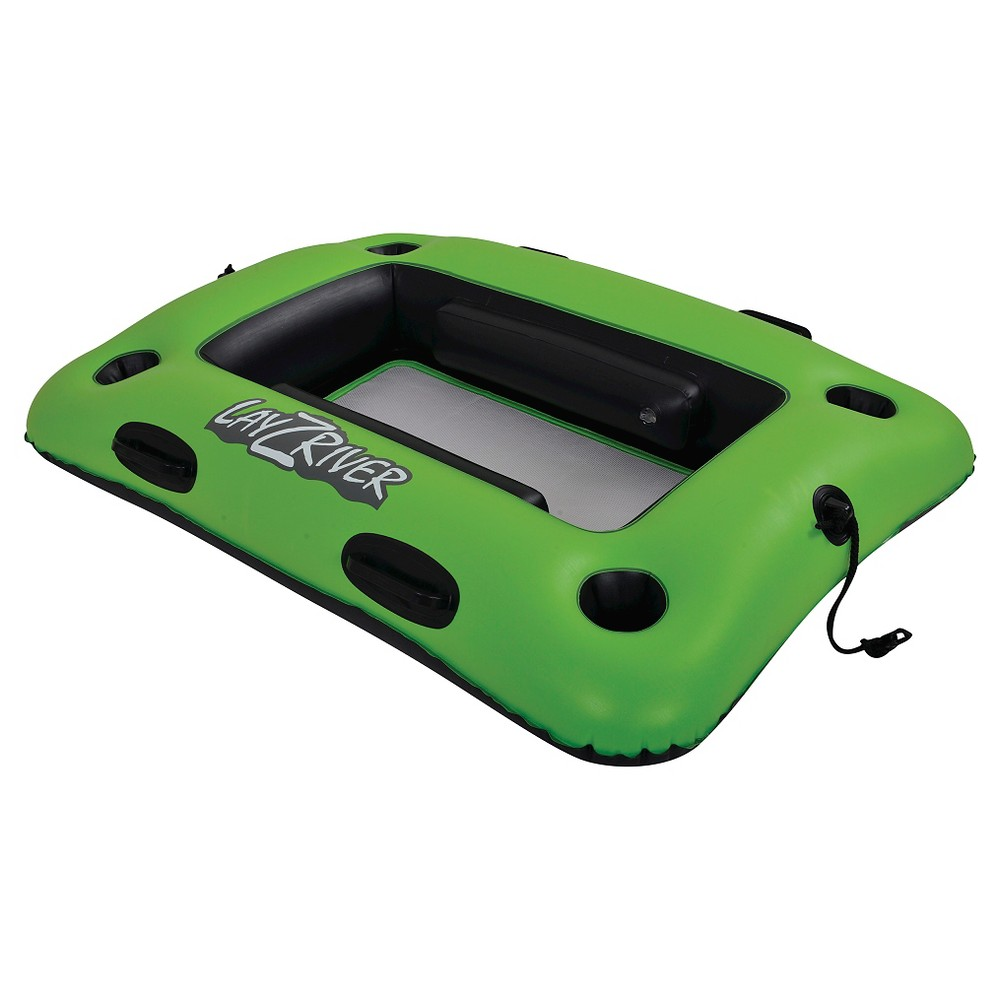 Lay-Z-River 44-in x 33-in Inflatable Cooler Float, Green