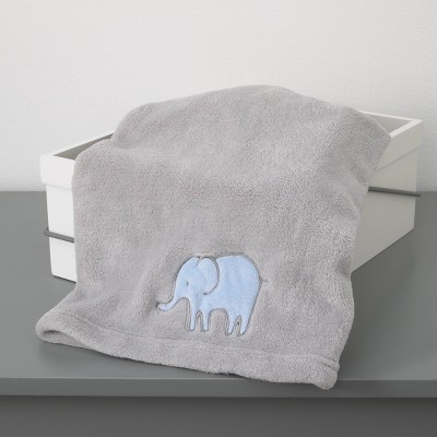 Elephant Baby Blanket - Blue Just One You® - made by carter's