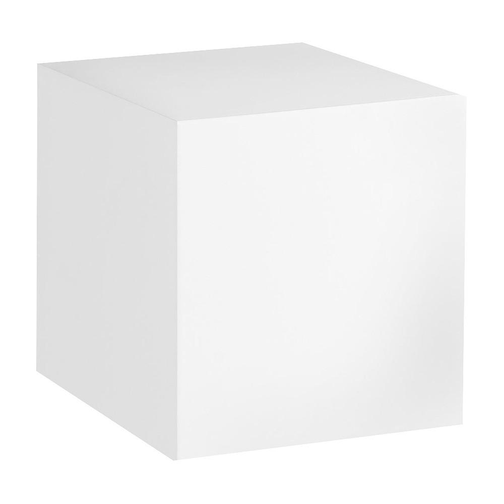 Image of Dado Shelf White, decorative wall shelf
