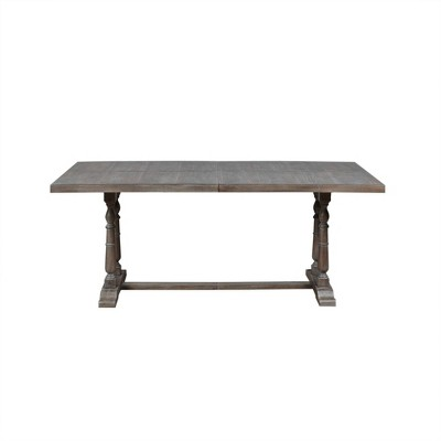 Tristan Rectangular Dining Table Natural/Gray
