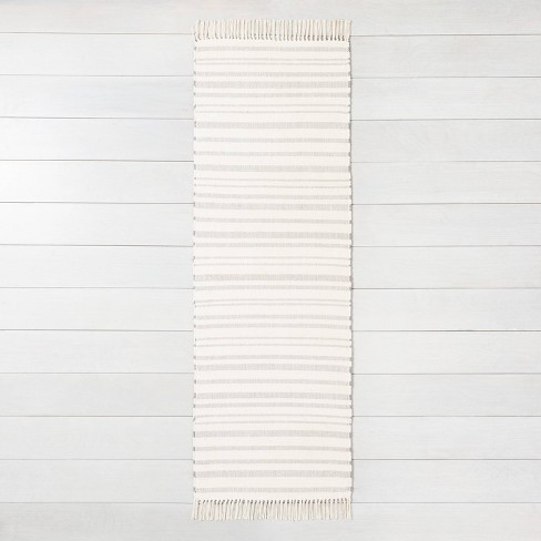Stripe with Fringe Area Rug - Hearth & Hand™ with Magnolia - image 1 of 4