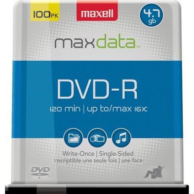Maxell 16x DVD-R Media - 120mm