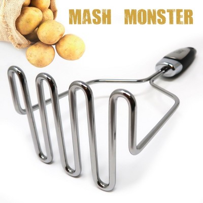 Zulay Kitchen Stainless Steel Potato Masher