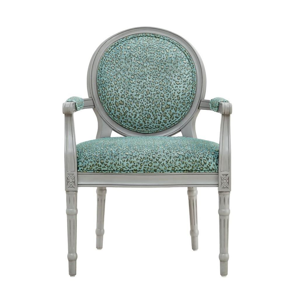 Ocelot Accent Chair Light Gray - Powell Company